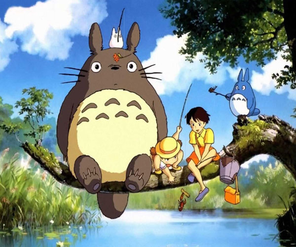 Banner for the film My Neighbour Totoro