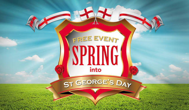 Spring into St Georges Day banner