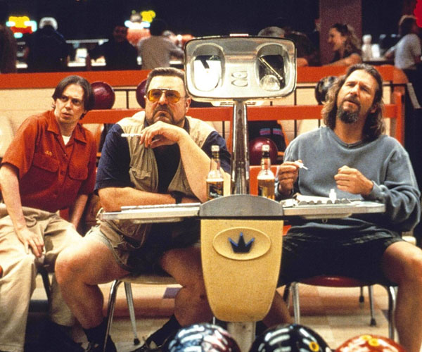 banner for the film The Big Lebowski