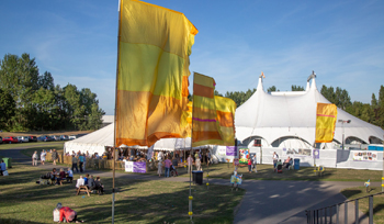 Picture of the big top tent