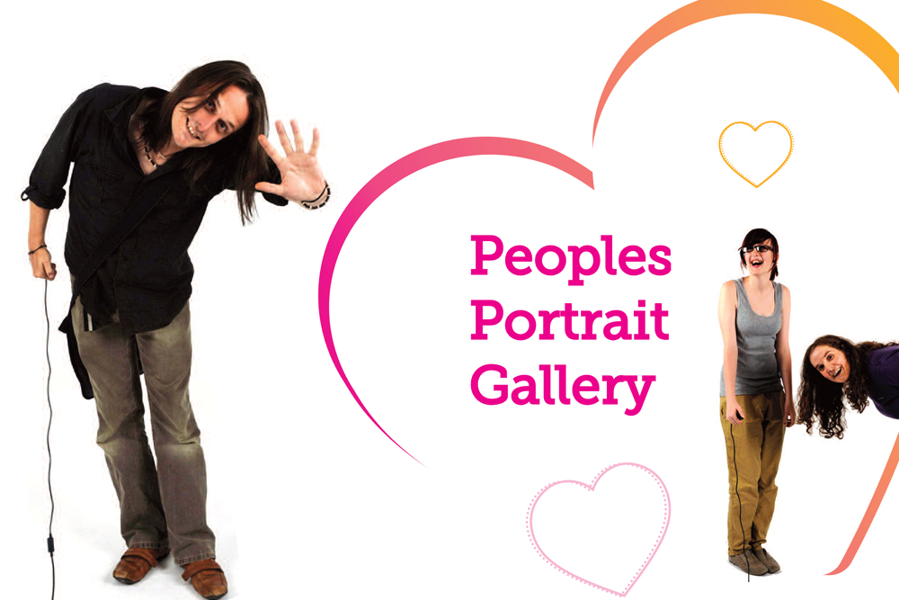 Peoples portraits banner