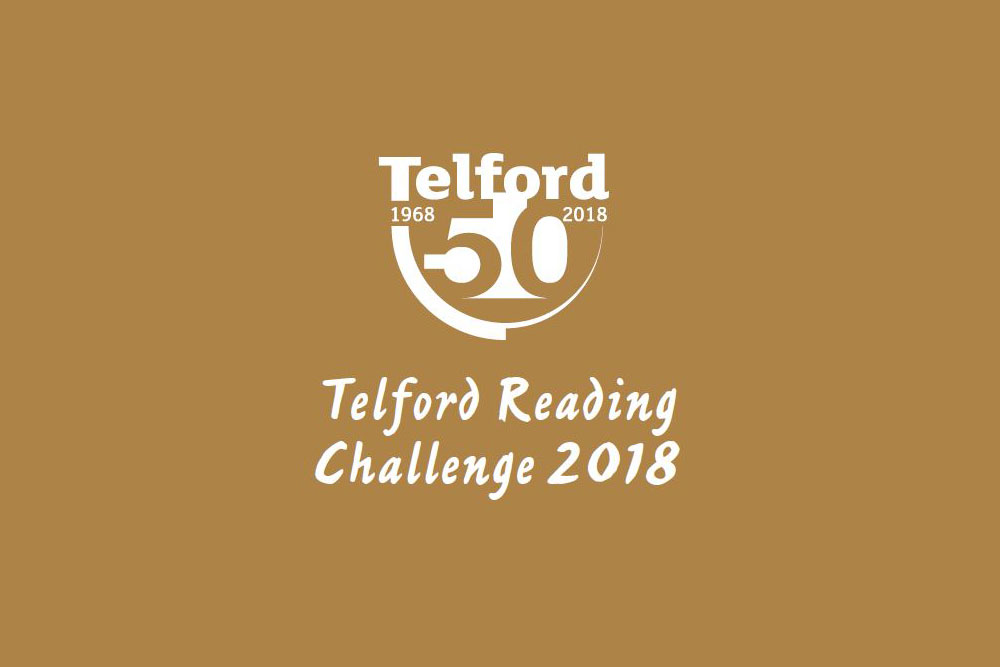 Telford 50 summer reading challenge logo
