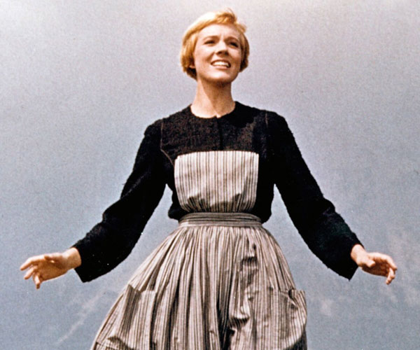 Banner for the film Sound of Music