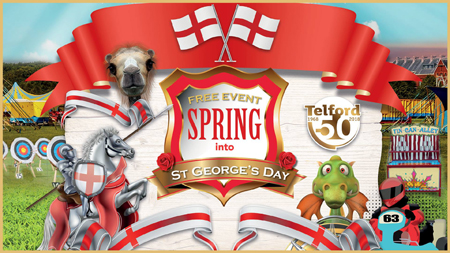 Spring into St George's Day event