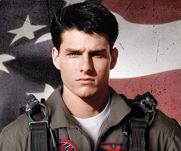Banner for the film Top Gun