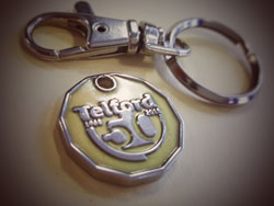 Telford 50 Trolley Token